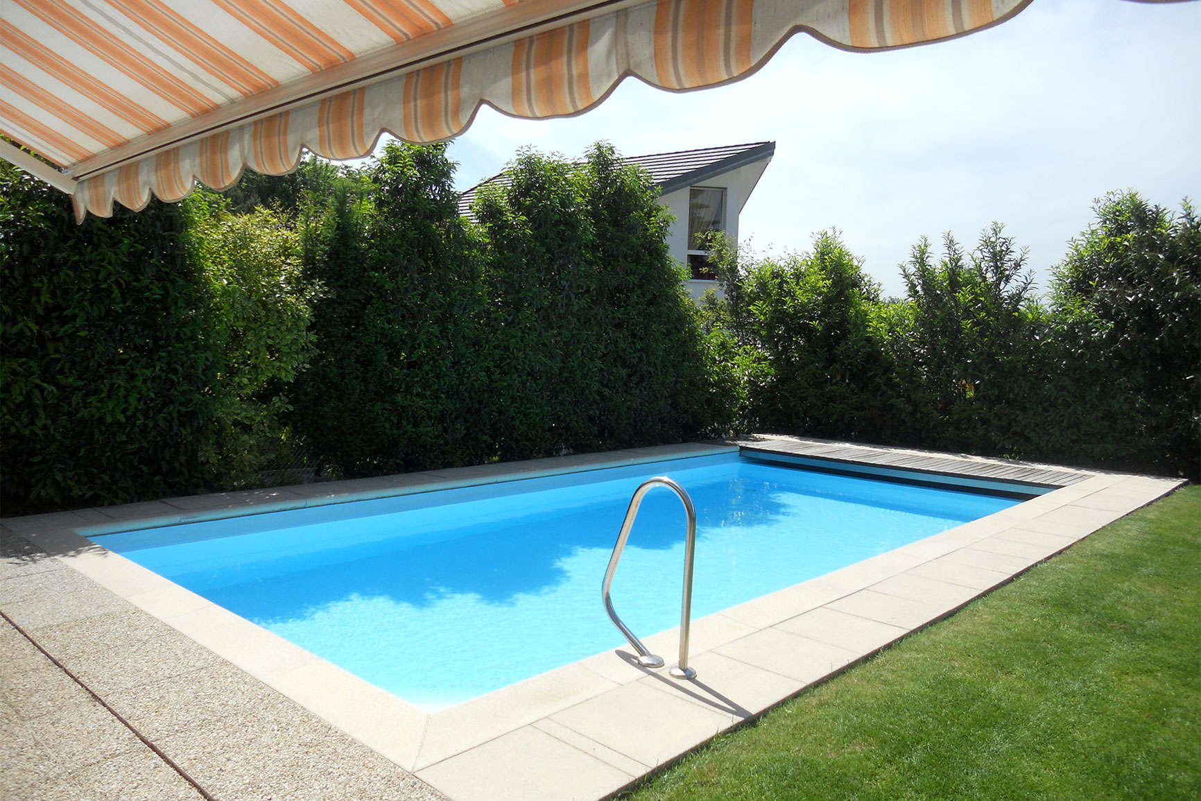 Classique liner piscines widmer for Liner piscine diametre 3 50