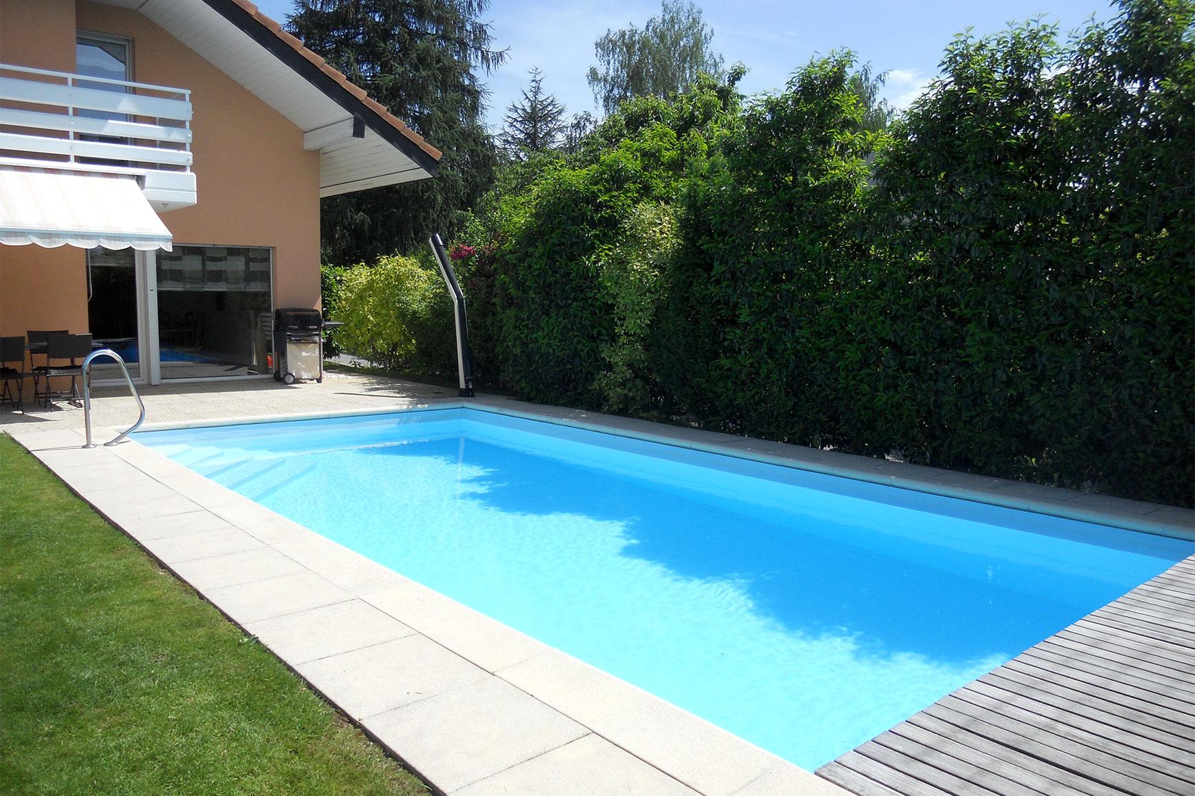 Classique liner piscines widmer for Chavannes piscine