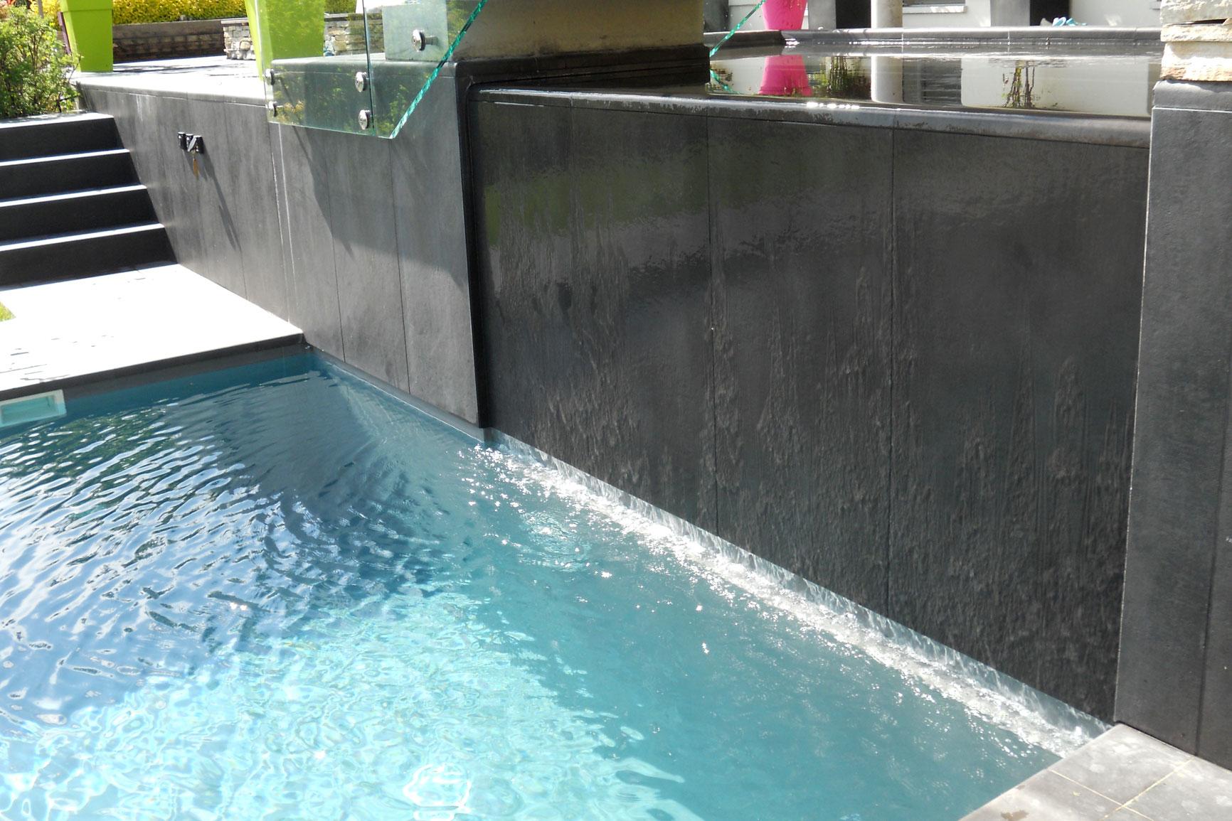 Classique liner piscines widmer for Piscine miroir liner